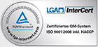 LGA InterCert - Certified Quality System